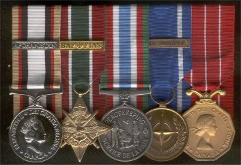 Current Operations Medals